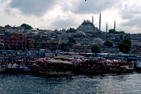 Old Istanbul from Galatia Bridge