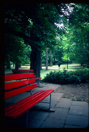 Park Bench, Luxembourg City